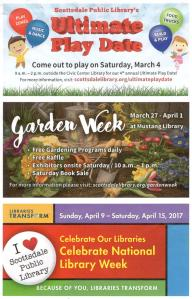 Library Spring 2017 Events