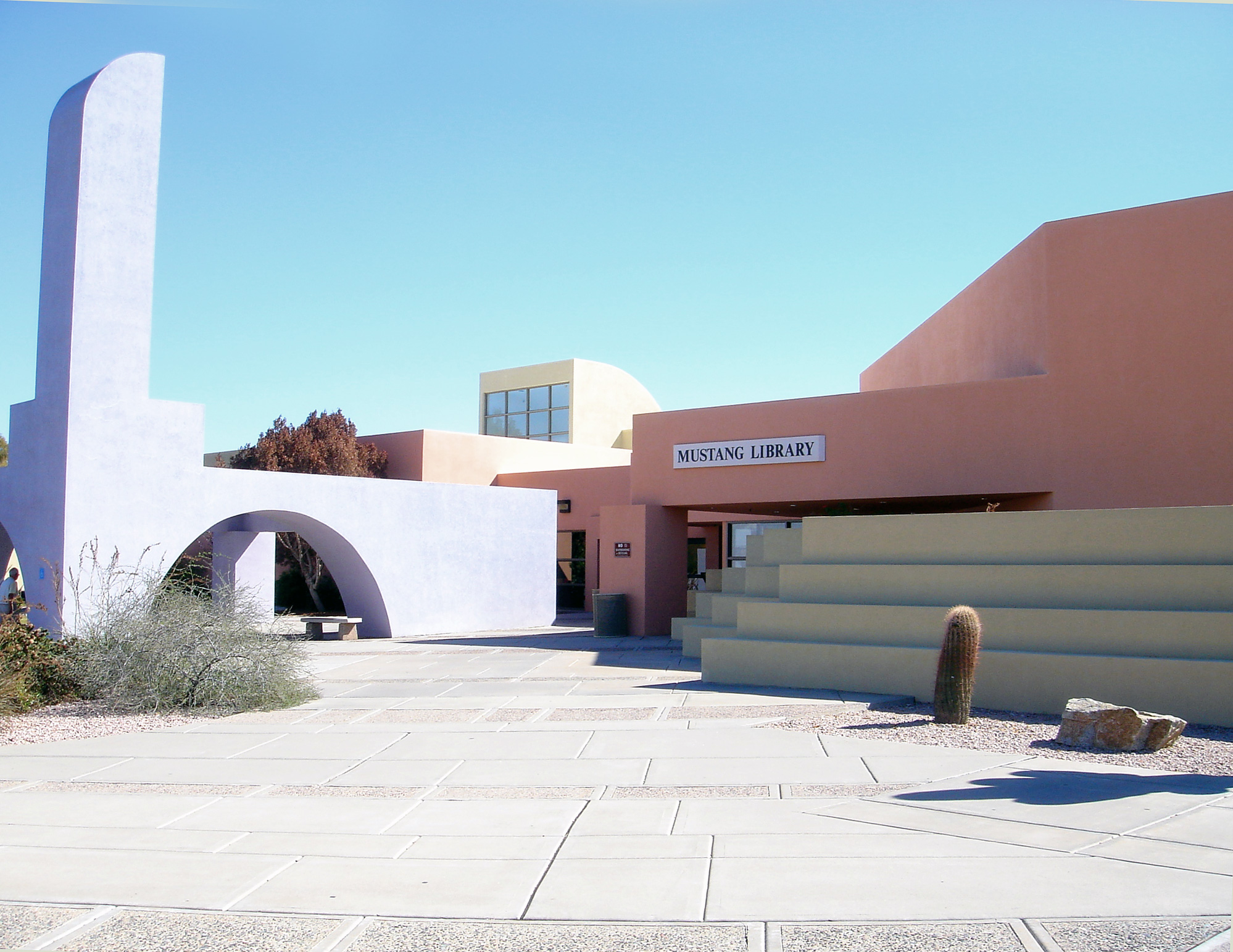 Mustang Library Turns 30 In 2017 Friends Of The